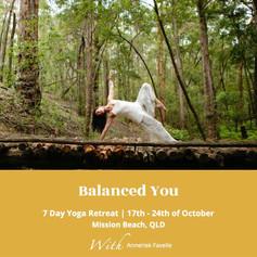 balanced you retreat