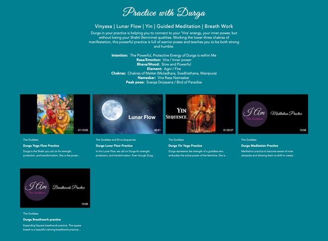 Practice with Durga