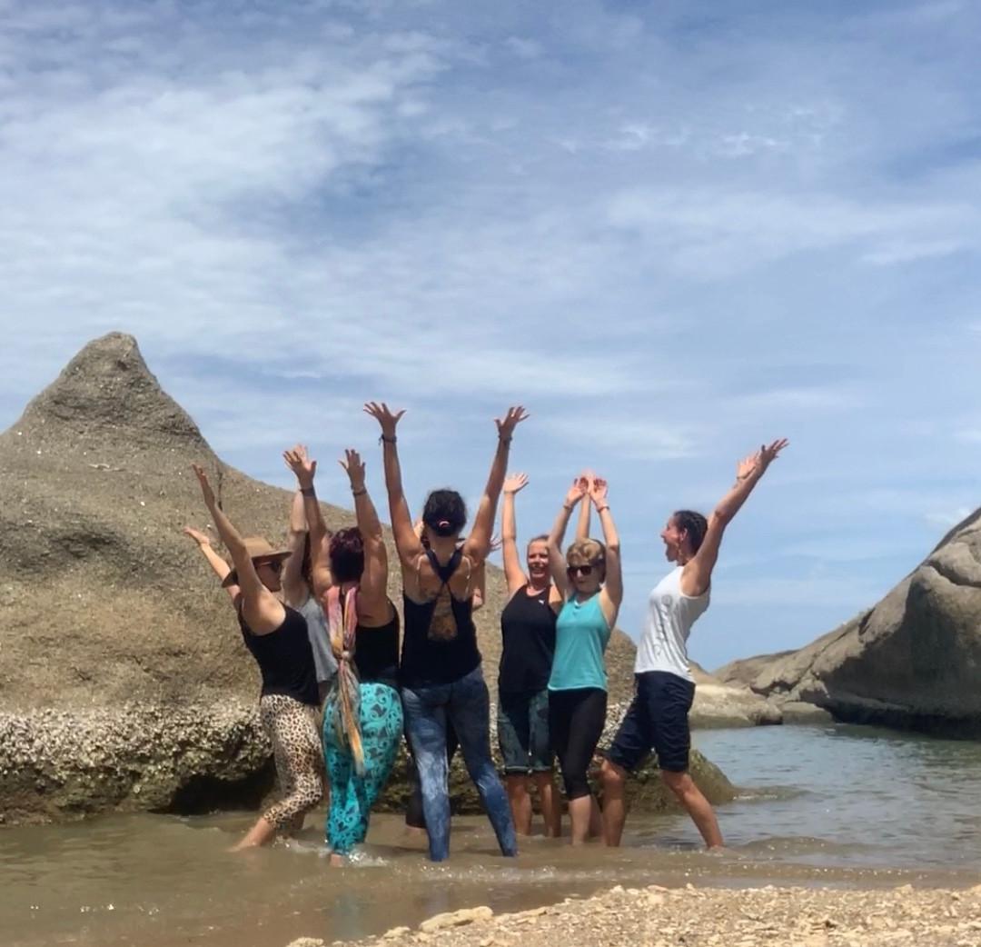 Beach Photo at the Awakening Shakti Yoga Retreat