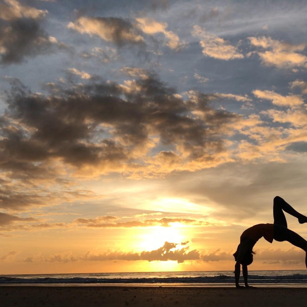 Sun Salute Photo at the Balanced You Yoga Retreat