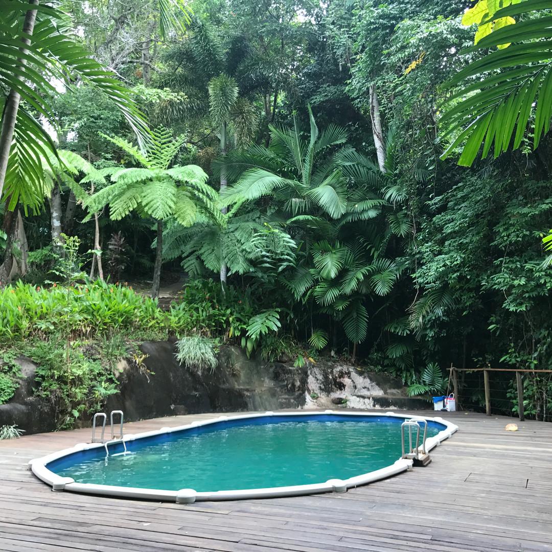 Pool Photo at the Balanced You Yoga Retreat