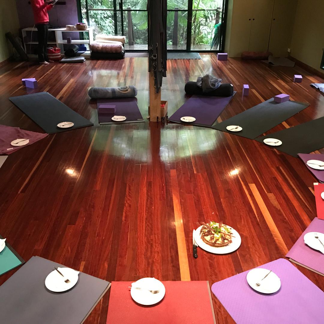 Yoga Studio Photo at the Balanced You Yoga Retreat