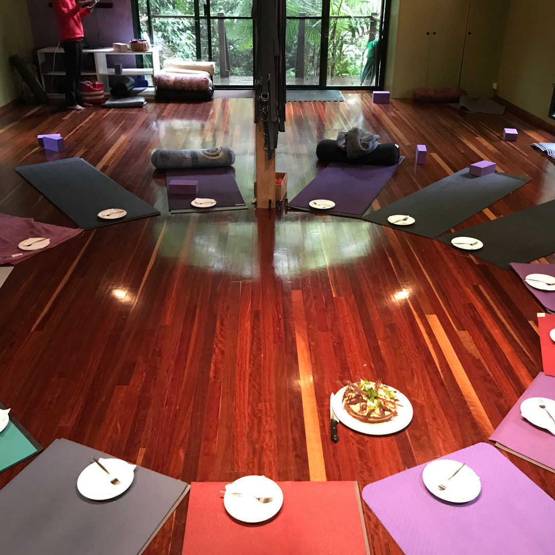 Yoga Studio Photo at the Awakening Shakti Yoga Retreat