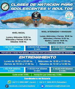 Flyers Natacion Adultos 2021 - Abril 202