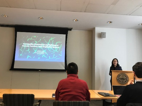 Congratulations to Christine for defending her thesis!