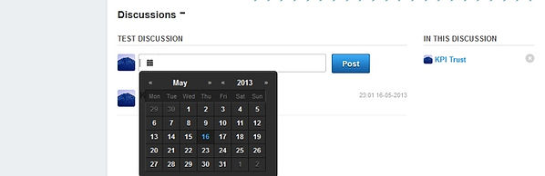 KPIとは 日付設定
