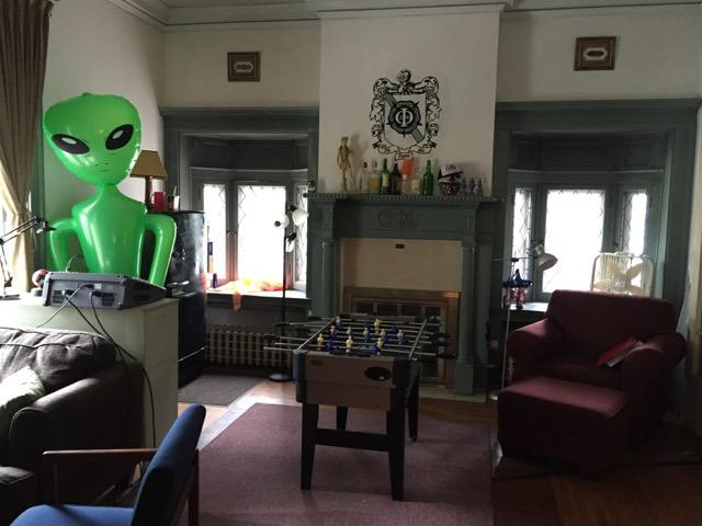 Frat House Living Room