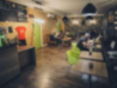Locaux H.O.P.E & CO salle de repas