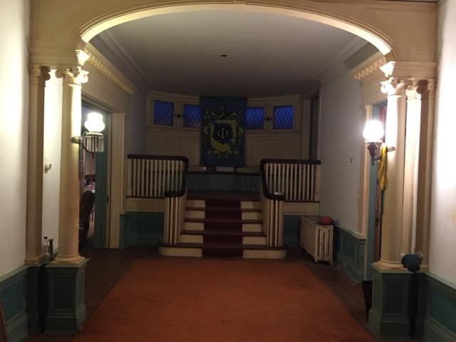 Frat House Main Hallway
