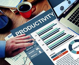 Productivity Businessman Working Calcula