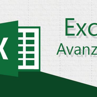 Curso Virtual de Excel Avanzado. Fechas: 11, 18, 25 de mayo y 01, 08 de junio de 2021. Horario: 6:00 p.m. a 9:00 p.m.