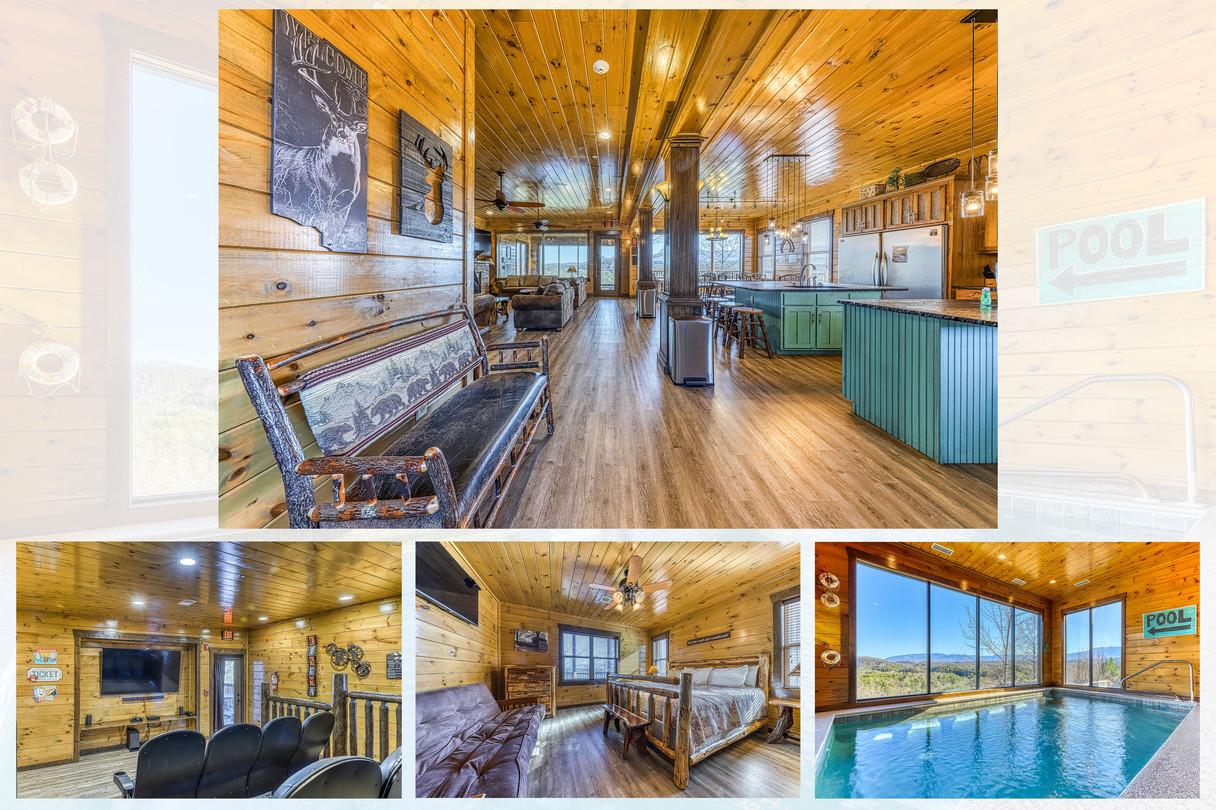 Luxurious Wood Cabin