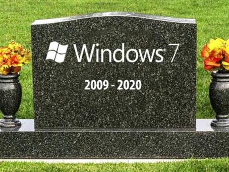 Windows 7 is dead.