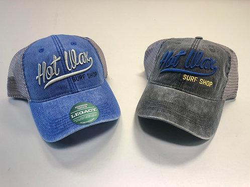Hot Wax Script Baseball Cap