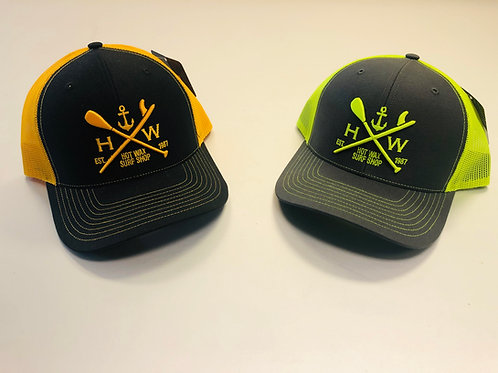 Hot Wax Anchor Logo Snapback