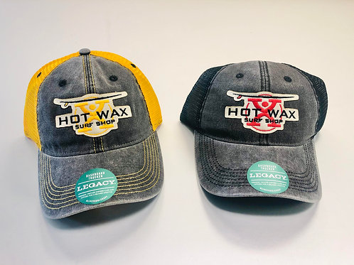 Hot Wax X Logo Baseball Cap
