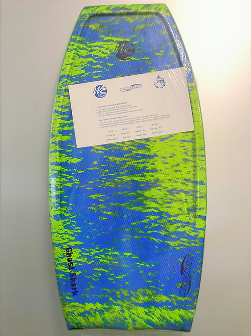 "Wave Skater Ghost Shark 48"" Body Board"