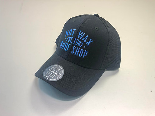 Hot Wax Established Cotton Fitted Baseball Cap