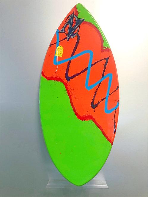 "ZAP 49"" Large Wedge Skim Board"