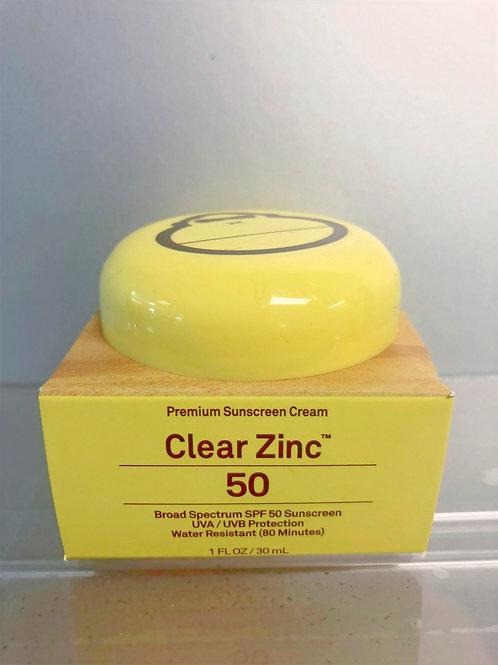 Sun Bum Clear Zinc Sunscreen Cream
