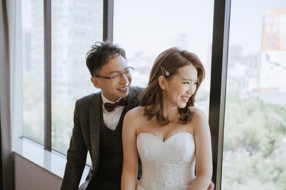 越簡單卻又不簡單的婚禮