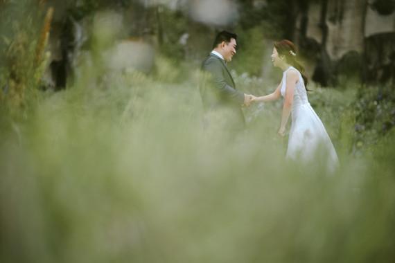 互動間自然情緒的婚紗