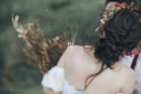 一種層次藝術來呈現的自助婚紗