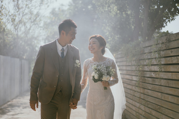 訂婚與迎娶拜別的經典婚禮