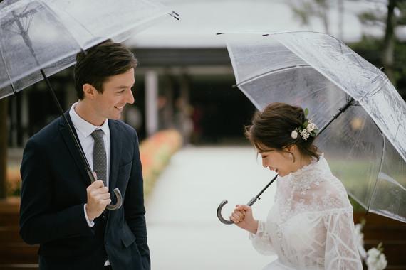 有美式與法式婚禮的一場證婚與婚禮