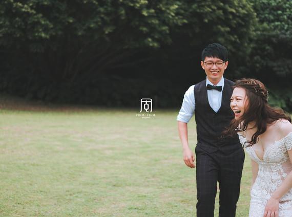 屬於你們那最真誠的自然互動婚紗