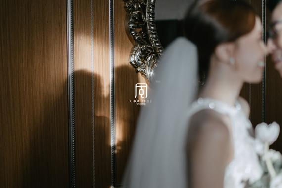 有點美也有點日式簡約的婚禮