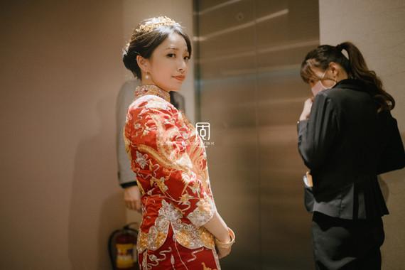 低調中帶有中式風味的婚禮紀錄