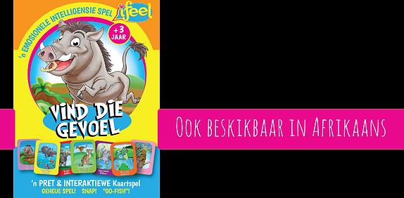 iFeel, Vind die gevoel, afrikaans games for kids