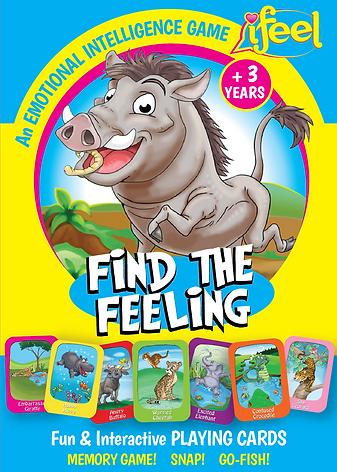 iFeel, Find he Feelig, go fish for feelings, emotional intelligence games