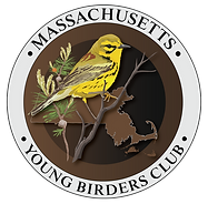 MYBC logo with the state of MA and a Prairie Warbler.