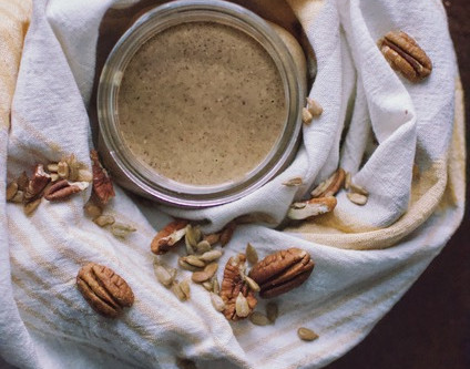 Sunflower and Pecan Butter from Heather Tobey