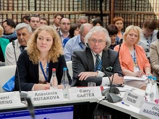 Директор ИСБ (Великобритания) Гарри Картер посетил Москву