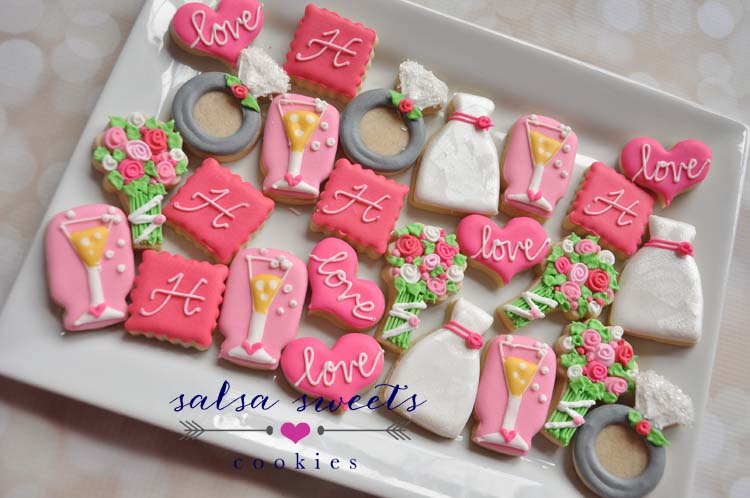 wedding minis pinks