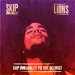 Digital cover for Lions by Skip Marley vs The Kemist