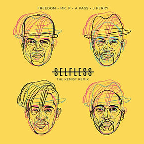 digital cover for selfless the kemist remix by freedom feauring peter p-square, j perry and a pass