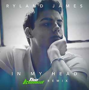 digital cover for in my head the kemist remix by ryland james