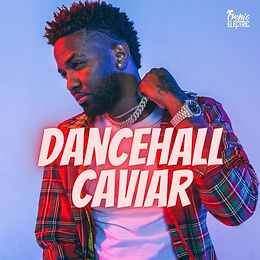 digital cover for tropic electric dancehall caviar playlist on spotify apple music deezer