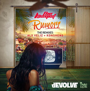 digital cover for rumors the remixes by the kemist and devolve