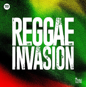 digital cover tropic electric reggae invasion playlist on spotify