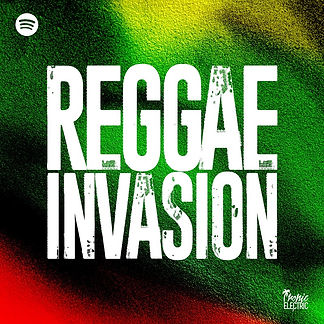 digital cover for tropic electric reggae invasion playlist on spotify apple music deezer