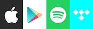 Logo for music streaming services