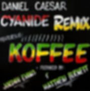 Digital Cover for Cyanide Remix by Daniel Caesar feat Koffee