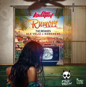 digital cover for rumors pink panda remix by the kemist
