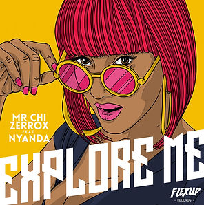 digital cover for explore me by mr chi & zerrox feat nyanda
