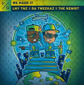 digital cover for we made it by lny tnz, the kemist and da tweekaz